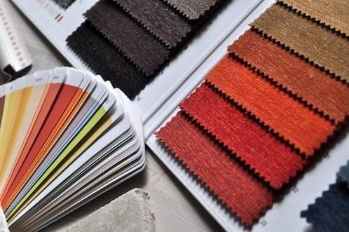 paint color deck and paint color swatch