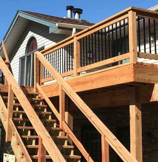 railings deck builders madison wi