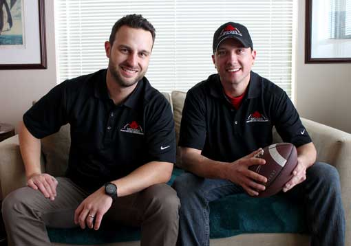 3rd Generation Painting and Remodeling Founders Andre Kazimierski and Matt Schmidt